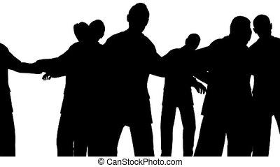 dans, mensenmassa