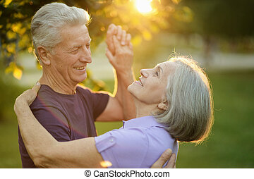 dans, paar, middelbare leeftijd