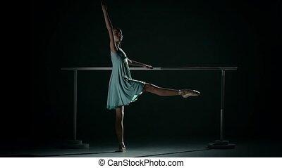 danser, ballet, ablue, tutu, vervelend, jonge