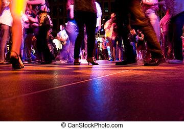 de vloer van de dans