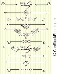 decor, communie, ontwerp, pagina, calligraphic