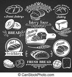 decoratief, ouderwetse , bread., etiket
