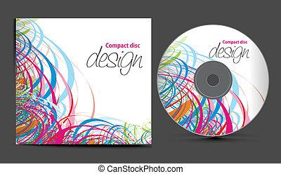 dekking, ontwerp, cd