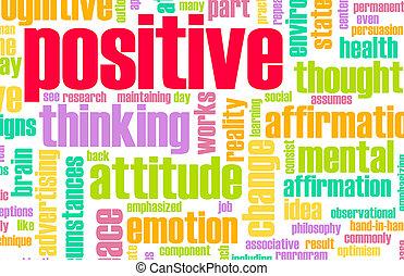 denken, positief