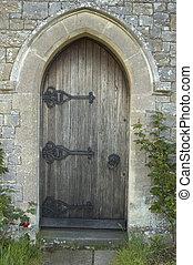 deur, kerk