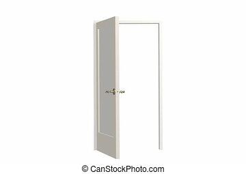 deur, opening
