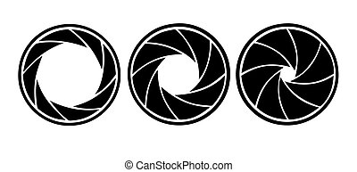 diafragma, witte , vector, silhouette, achtergrond