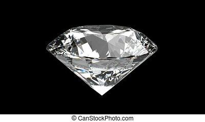 diamant, loopable, ronddraaien