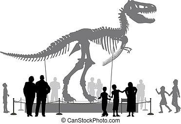 dinosaurus, museum