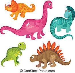 dinosaurus, set