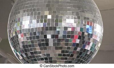 disco, ball., groot