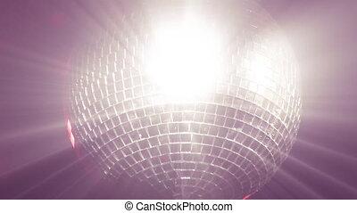 disco, bevoorraden beeldmateriaal, bal