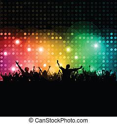 disco, mensen