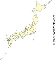 districten, japan, secretarieel