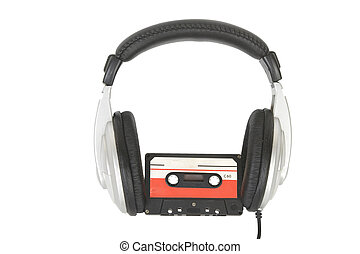 dj, headphones, cassette, audio