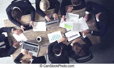 documenten, handel team