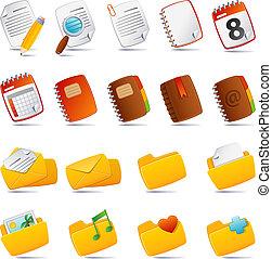 documenten, pictogram