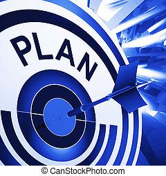 doel, middelen, planning, plan, doelen, missies