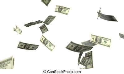 dollars, het vallen