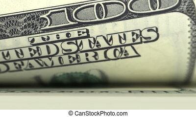 dollars, looped, telling, animatie