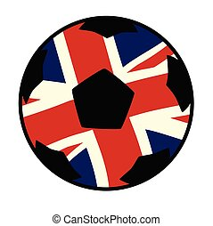 dommekracht, vlag, uk, voetbal, unie