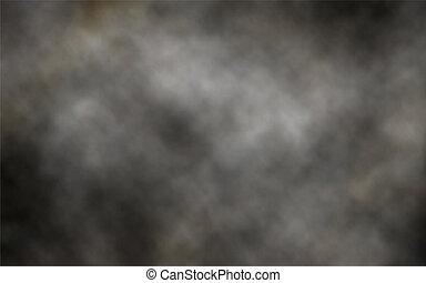 donker, rook, achtergrond