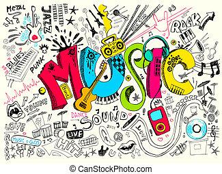 doodle, muziek
