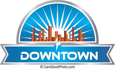 downtown, grafisch