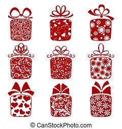 dozen, verzameling, cadeau