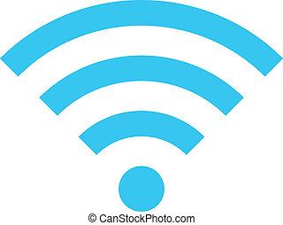 draadloos, vector, netwerk, pictogram