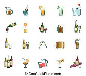 drank, iconen