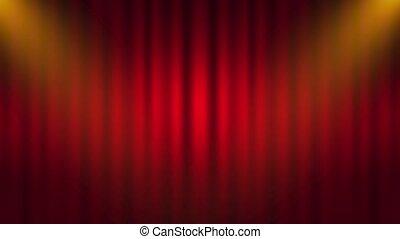 drapes, motie, gordijn, achtergrond, graphics., black , gordijnen, movies., rood, theater, ineengevouwen , amusement, stage., mooi