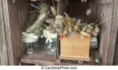 droog, bloemist, bloemen, winkel