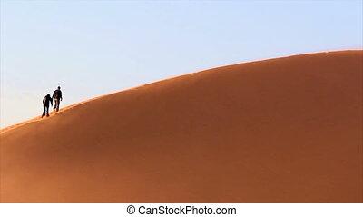 duin, zand, trekking