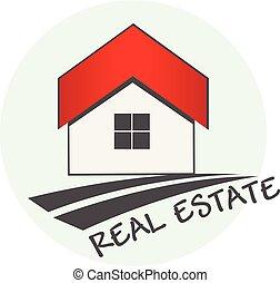 echte, logo, landgoed, woning
