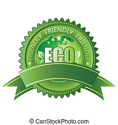 eco-vriendelijke, pictogram