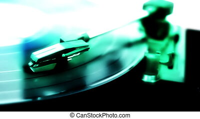 een, speler, registreren, abstract