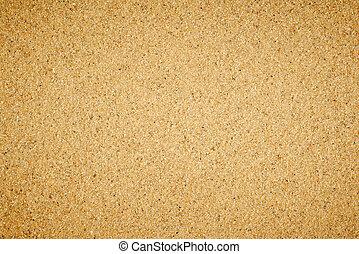 eenvoudig, plat, zand, texture.