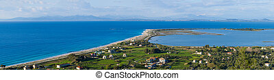 eiland, griekenland, overzicht, lefkada