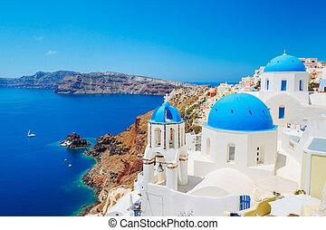 eiland, griekenland, santorini