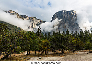 el, nationaal park, californië, capitan, yosemite