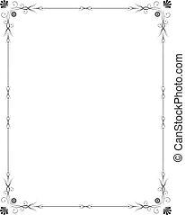 elegant, frame