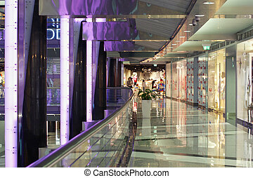elegant, mall, shoppen