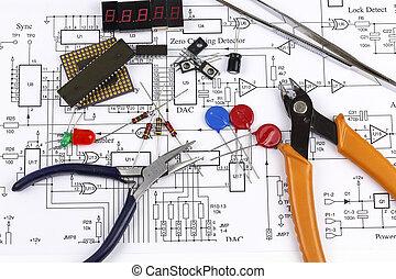 elektronica, componenten