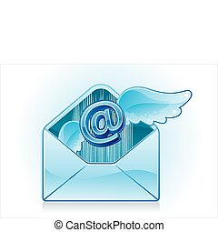 email, pictogram