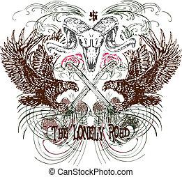 embleem, heraldisch, ontwerp