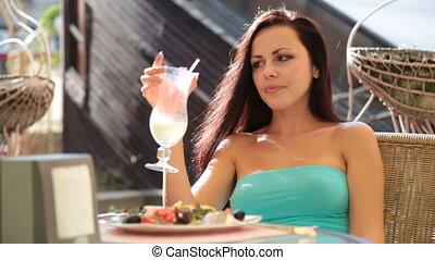 etentje, buiten restaurant