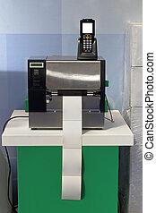 etiket, streepjescode, printer