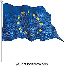 europa, het watergolven dundoek