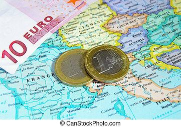 europa, muntjes, eurobiljet